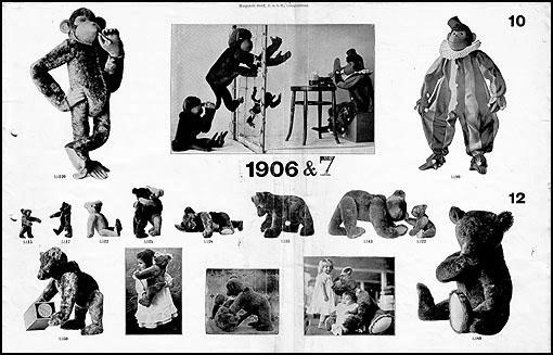 steiff kataloge 1892 1920. Black Bedroom Furniture Sets. Home Design Ideas
